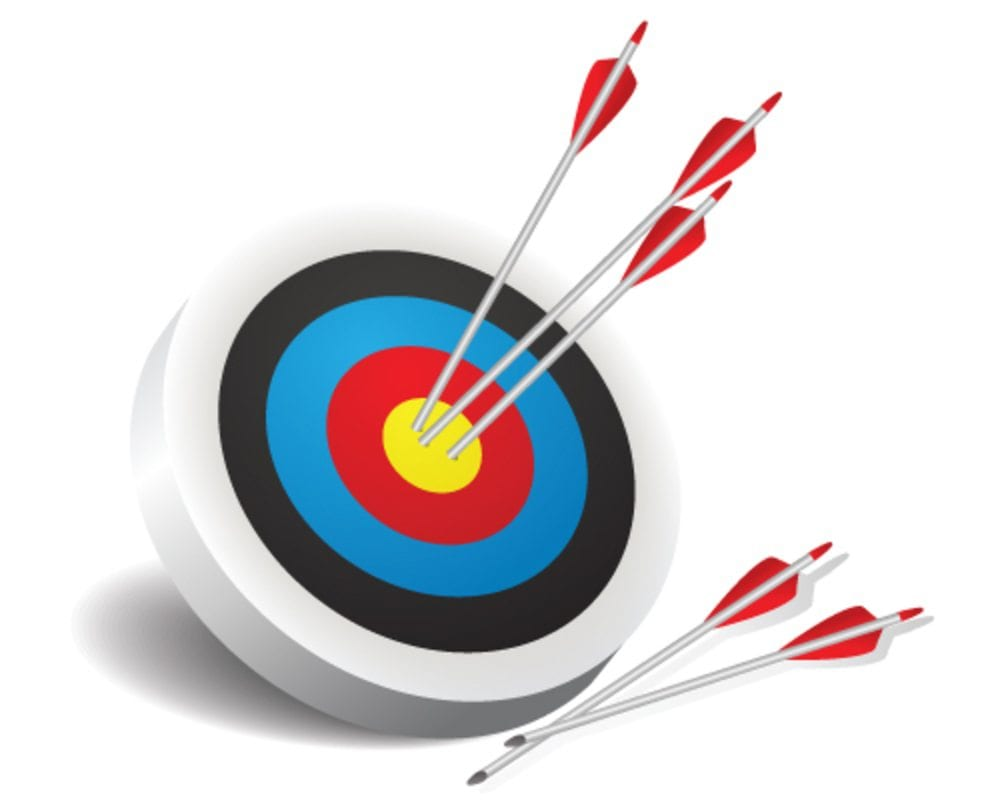 archery target - Managed Websites & Marketing for Financial Services